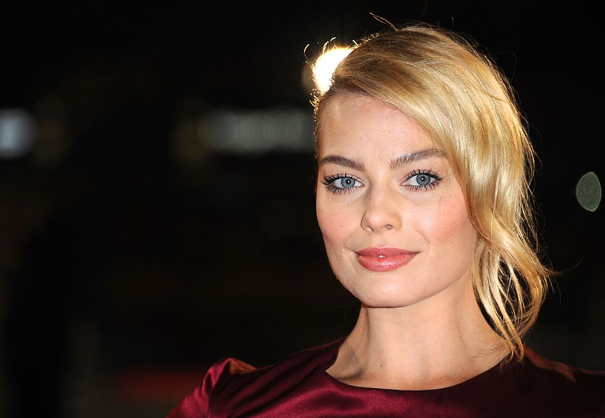 LONDON, ENGLAND - JANUARY 09:  Actress Margot Robbie attends the UK Premiere of The Wolf of Wall Street at London's Leicester Square on January 9, 2014 in London, England.  (Photo by Anthony Harvey/Getty Images for Universal Pictures)