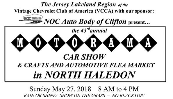 Motorama Car Show - Lakeland car show 2018