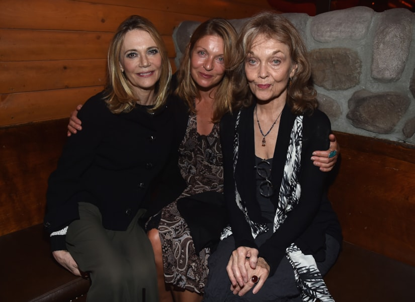 """LOS ANGELES, CA - JULY 16:  Actors Peggy Lipton, Sheryl Lee and Grace Zabriskie attend the after party for The American Film Institute Presents """"Twin Peaks-The Entire Mystery"""" Blu-Ray/DVD release at Bigfoot Lodge on July 16, 2014 in Los Angeles, California.  (Photo by Alberto E. Rodriguez/Getty Images)"""